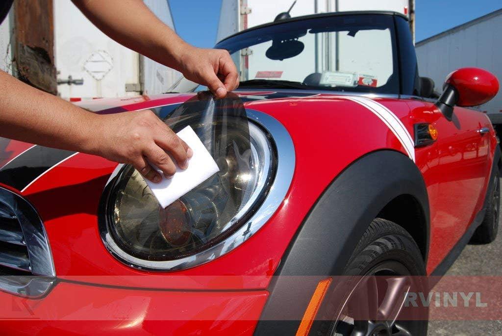 Sedan Rvinyl Rtint Headlight Tint Covers for Mercedes-Benz S-Class 2010-2013 Application Kit