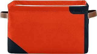 REFFW Lot de 2 bacs de Rangement en Tissu Pliable pour la Maison, Panier de Cube pour Placard à la Maison, tiroirs de Cham...