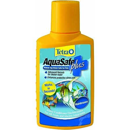 Tetra AquaSafe Plus, 8.45 Ounces, aquarium Water Conditioner And Dechlorinator, Model Number: 46798162681