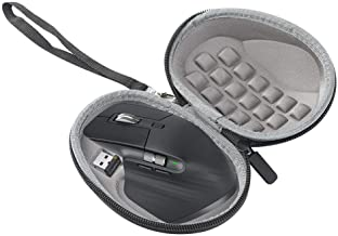JKRED for Logitech MX Master 3 Mouse Hard Carrying Case, Portable Pressure-Resistant Soft Lining Premium EVA Waterproof Po...