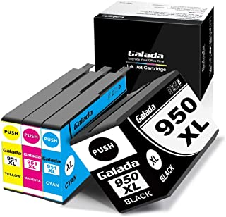 Galada Compatible Ink Cartridges Replacement for HP 950xl 951xl 950 951 xl for OfficeJet Pro 8600 8610 8620 8100 8630 8660 8640 8615 8625 276DW 251DW 271DW Printer (1 Black 1 Cyan 1 Magenta 1 Yellow)