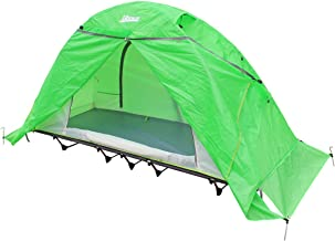 UBOWAY Tent Cot 2 Person Off Ground Outdoor Camping Waterproof Ultralight with Removable Sleeping Platform