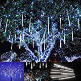 1. Estetica Romantica: La pioggia della meteora effetto come la pioggia di meteore o neve che cade nel cielo della notte, creando un'atmosfera felice festa. 2. Doppi Lati Illuminazione: Doppi lati di alta qualità SMD3528 fagiolo lampada a LED, doppio...