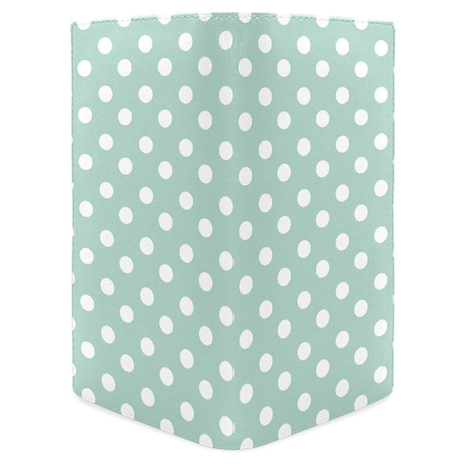 ほのか違反する洗練されたADE Aqua Polka Dotsレディースレザー財布ファッション財布m1611