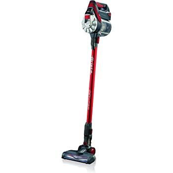 Ariete 2767 Aspiradora secar, hepa, ciclónico, 120 w, sin bolsa, 0.8 l, filtro hepa, luz led indicador batería baja, cepillo giratorio, autonomía 30 - 45 mins, color rojo negro: Amazon.es: Hogar