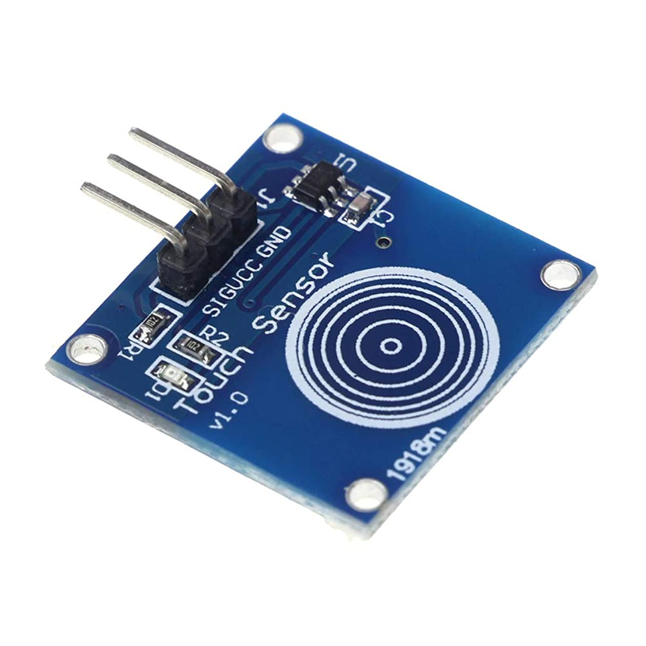 通行人展示会展開するCoolTack TTP223Bデジタルタッチセンサ容量式タッチスイッチモジュール