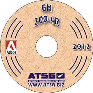 ATSG GM THM 200-4R Techtran Transmission Rebuild Manual (1980-1989)