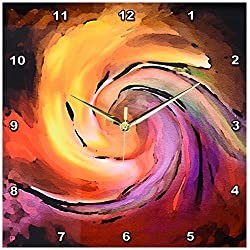 3dRose DPP_1283_2 Digital Artwork Design 8 Wall Clock, 13 by 13-Inch