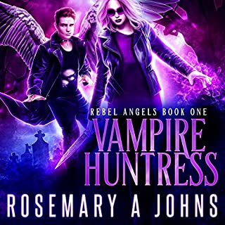 Vampire Huntress cover art