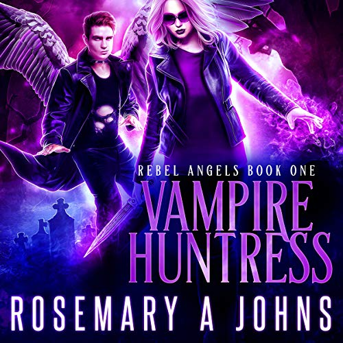 Vampire Huntress audiobook cover art
