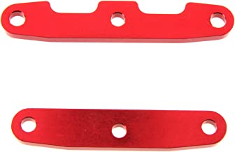 Atomik RC Alloy Front/Rear Bulkhead Tie Bar, Red fits the Traxxas 1/10 Slash 4X4 and Other Traxxas Models - Replaces Traxxas Part 6823