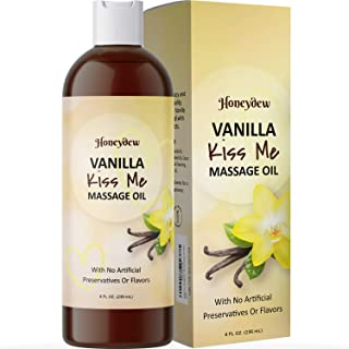 Enticing Vanilla Massage Oil for Couples – Sensual Massage Oil for Men and Women..