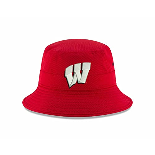 30b2640db6c New Era Wisconsin Badgers NCAA College Pride Bucket Hat - Red