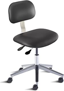 BioFit Engineered Products BTA-L-RC-C-AV126 Bridgeport Series Desk Height Chair with Aluminum Base