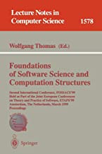 Foundations of Software Science and Computation Structures: Second International Conference, FOSSACS'99, Held as Part of the Joint European ... (Lecture Notes in Computer Science)