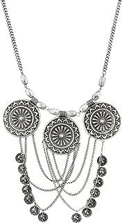 republique francaise coin necklace