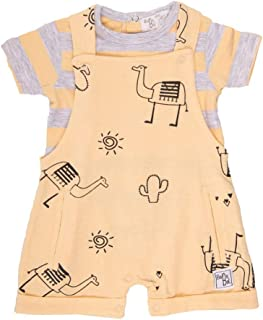 BABY-BOL - Conjunto bebé Peto y Camiseta bebé-niños