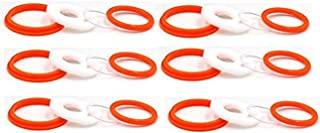 6 Sets Replacement Silicone Seals O Ring Gasket O Rings Rubber Bands