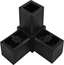 80/20 Inc, 9250, Quick Frame 3 Way Corner Connector, Black Nylon (10 Pack)