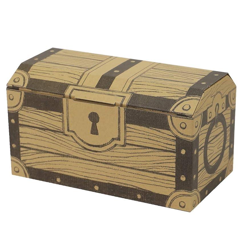 アースダンボール 宝箱ダンボール(60サイズ) ギフトボックス トレジャーボックス 5枚セット 【0367】