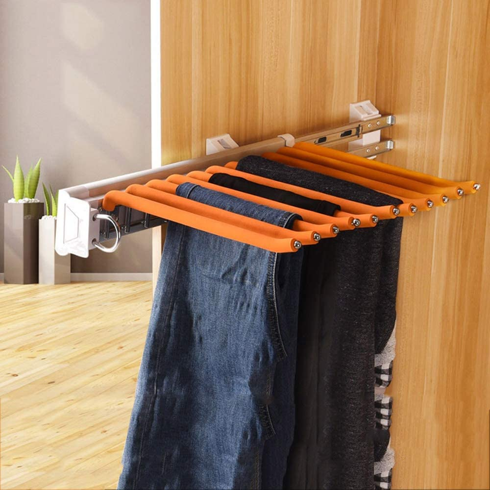 SZYW Shipping included Pull Out 55% OFF Trousers Hanger Pants Extendable Hangers Wardrobe