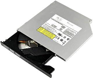 OSGEAR Interno 12.7mm delgado SATA 8x DVDRW CD DVD RW Rom Burner Writer PC portátil Bandeja Mac Carga Dispositivo de unidad óptica compatible con Asus, Acer, HP, Dell, Lenovo, Samsung y Sony