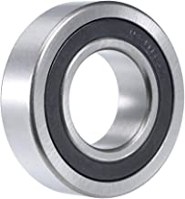 uxcell 1641-2RS Deep Groove Ball Bearing 1 inches x 2 inches x 9/16 inches Double Sealed Chrome Bearings 1-Pack