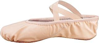 Bezioner Ballettschuhe Ballettschläppchen Tanzschuhe Geteilte Ledersohle für Kinder und Erwachsene
