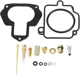 Carburetor Rebuild Kit Carb Repair for Yamaha Atv YFM350X YFM 350X Warrior 350 88-04 (1988 1989 1990 1991 1992 1993 1994 1995 1996 1997 1998 1999 2000 2001 2002 2003 2004)
