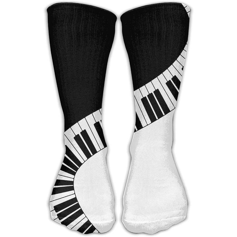 Piano Keys Unisex Funny Casual 30cm Stockings Athletic Sports Socks