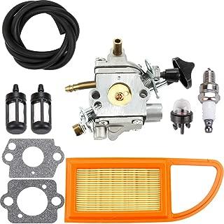 Dxent BR500 Carburetor for STIHL BR500 BR550 BR600 Backpack Blower Carburetor with Air Filter Fuel Line Filter Repower Parts Kit Engine