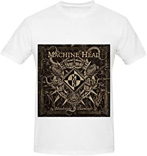Machine Head Bloodstone Diamonds R&B Album Cover Mens Crew Neck Cool T Shirt