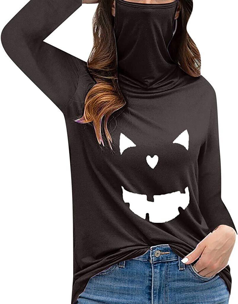 Women's Casual Loose Turtleneck Short Max 43% OFF To Tank Daisy Sleeve Print Fees free