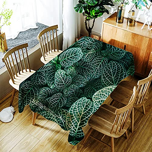 XXDD Mantel Impermeable con Estampado de flamencos de Animales de Plantas Tropicales decoración del hogar Mantel Rectangular Lavable a Prueba de Polvo A4 140x160cm