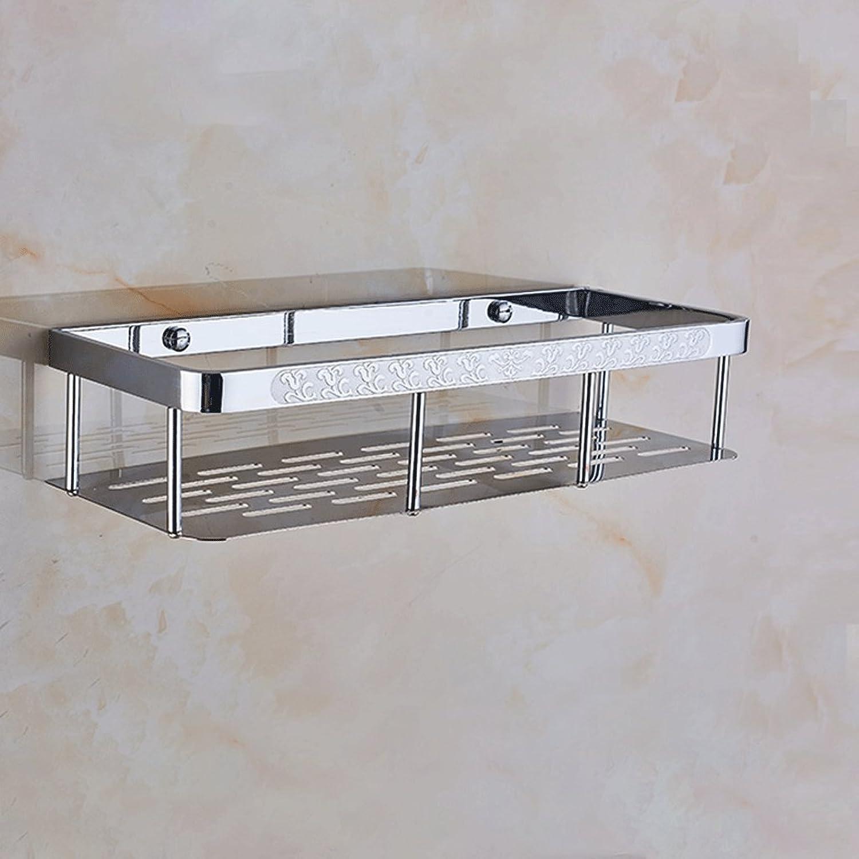 35  14  8cm All-Copper European Carved Square Shelf Bathroom Accessories