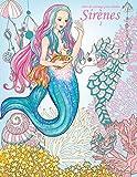 Livre de coloriage pour adultes Sirènes 1