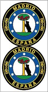 Suchergebnis Auf Für Madrid Aufkleber Merchandiseprodukte Auto Motorrad
