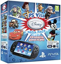 PlayStation Vita (PS Vita) - Console [Wi-Fi] Disney Mega Pack con Memory Card 8 GB [Bundle]