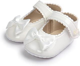 Sabe Infant Baby Girls Soft Sole Prewalker Crib Mary Jane Shoes Princess Light Shoes