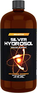 Pharmacist Recommended 16 oz Advanced Biogenix Silver Hydrosol, All Natural & Effective for Bacteria and Viruses. Not just a colloidal, silver that actually works!