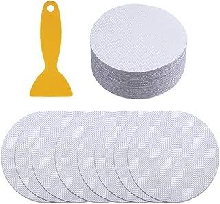 LONYGN Shower Anti Slip Non Slip Stickers for Tubs Bath 3.9in 40 Pieces Non-Slip Bath Treads Slip Disc with Scraper for Tubs Sticker