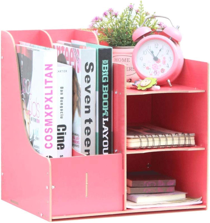 WXH-Datei Halter Aktenordner Einfaches Bücherregal Mehrlagiger Ordner Aufbewahrungsbox Schubladenbox (Farbe   A) B07HCPCRM3 | In hohem Grade geschätzt und weit vertrautes herein und heraus