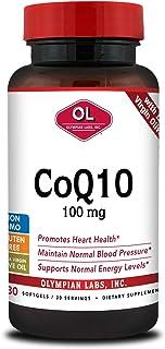 Olympian Labs CoQ10 100 mg, 30 softgels