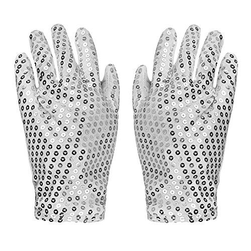 RUIXIB LED Leucht Handschuhe, Bunte Licht Beleuchtung Finger Glow Handschuhe Leuchtende Gloves 4 Stil Für Halloween Party Weihnacht Karneval Mottoparties Bars und Aufführungen