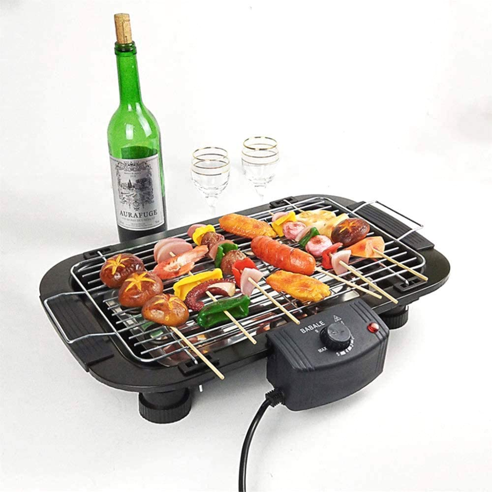 WFY Electric Barbecue Grill Max 72% OFF Indoor Grilling Smokefree Table Mesa Mall BBQ