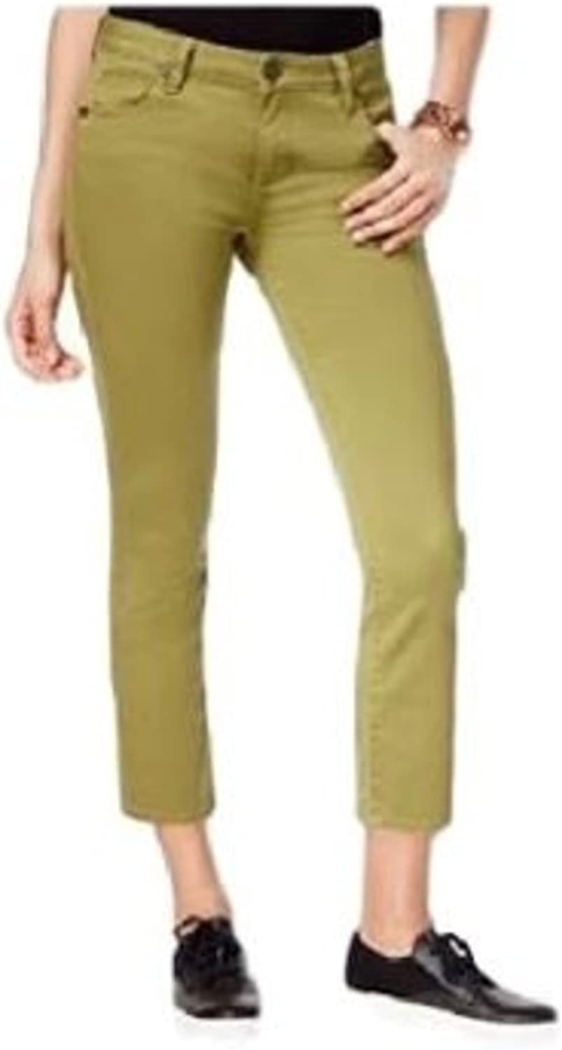KUT from the Kloth Womens Reese Straight Leg colord Ankle Pants