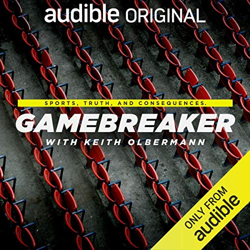 Gamebreaker with Keith Olbermann audiobook cover art
