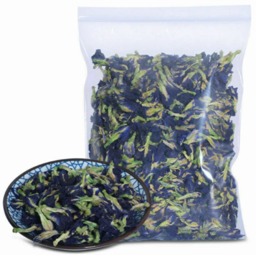 500 Grams 17.6 Oz Blue Max 44% OFF Butterfly Flowers All Drie Pea Sacramento Mall Natural