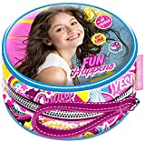 Karactermania Soy Luna Fun Happens Monedero, 10 cm, Morado