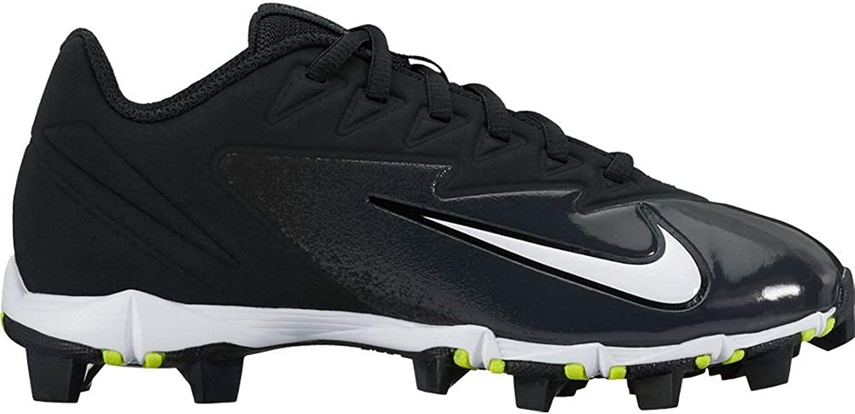 NIKE Kids Vapor Ultrafly Keystone BG W Baseball Cleat Black White Black Size 1.5 M US